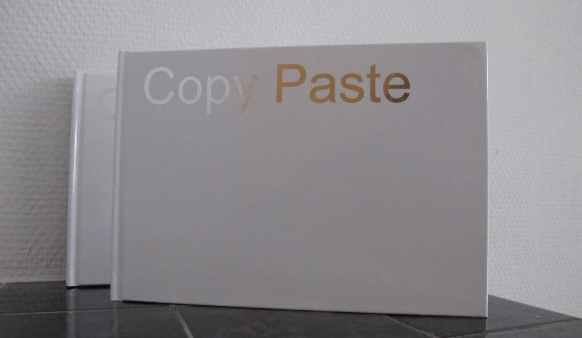 Copy Paste - First artis't book Hester van Tongerlo 2016