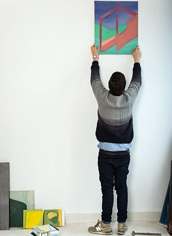 Steye Felix, view of installation of work by the artist in the exhibition Goodbye to my Imaginary Friends, at SEA Foundation Tilburg, the Netherlands.