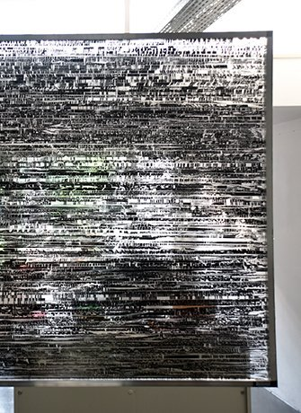 Jens Standke, A tape runs on in silence, 2016. Solo exhibition at Project Space Tilburg, at SEA Foundation Tilburg, the Netherlands. 10.09.2016 until 23.10.2016.