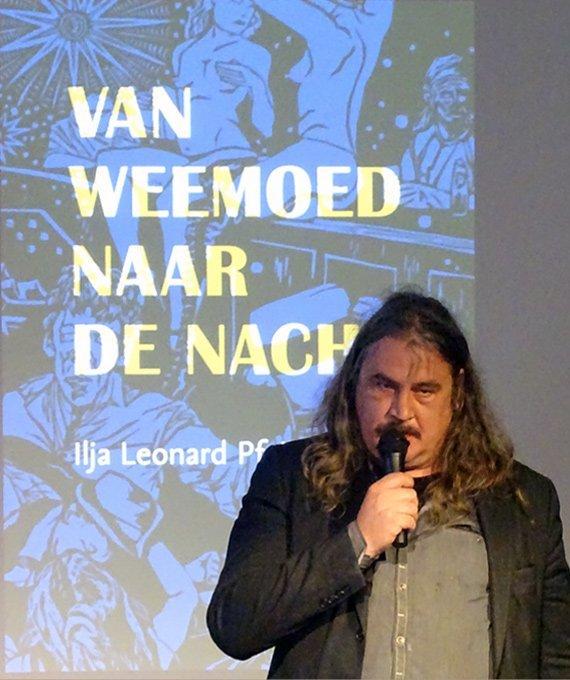 Ilja Leonard Pfeijffer presentation ' Van Weemoed naar de Nacht, 2014