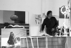 René Korten at his studio, 2011