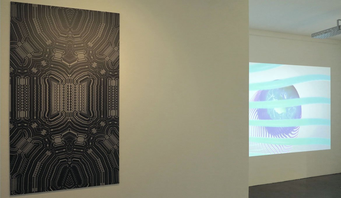 Installation and screening Clemmer and Stebbing at Project Space Tilburg