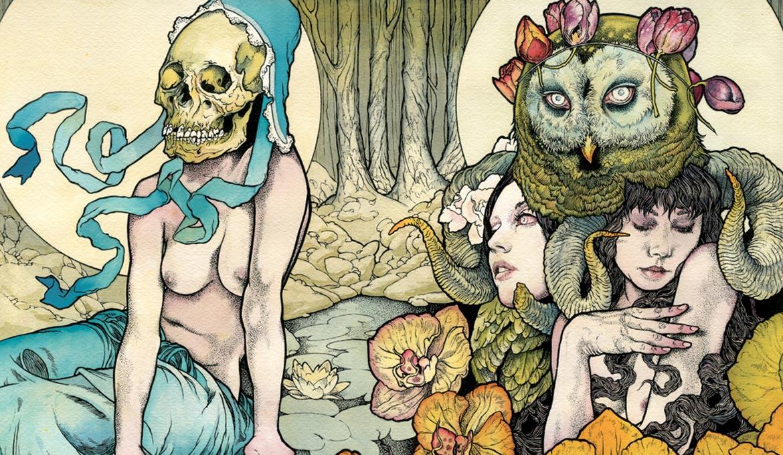 John Dyer Baizley Kvelertak, album cover, 2011