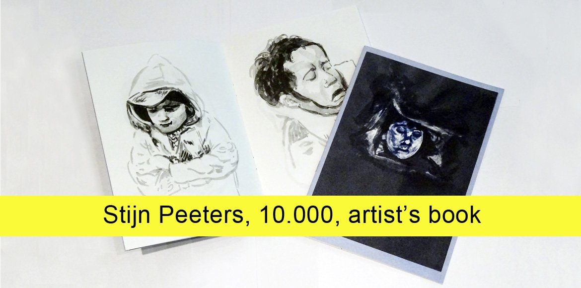 Stijn Peeters, 10.000, artist's book on the occasion of the exhibition at SEA Foundation Tilburg, the Netherlands