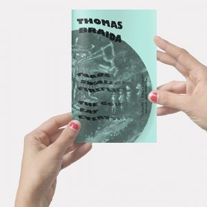 Thomas Braida, Toads swallows fireflies, the gods eat everything. Catalogue - 24 pages, 12x19cm, published on occasion of the solo exhibition at SEA Foundation Tilburg, the Netherlands