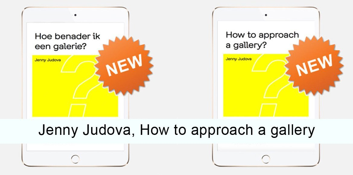 New e-books Jenny-Judova, How to approach a gallery