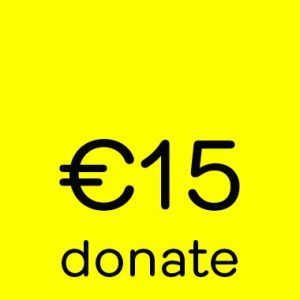 Donate button 15 euro