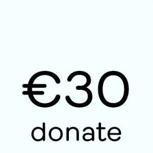 Donate button 30 euro