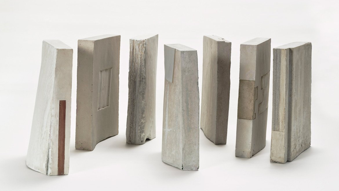 Eloisa Ibarra, Construction in 7 Volumes, concrete 2016, Artist in Residence, SEA Foundation 2017