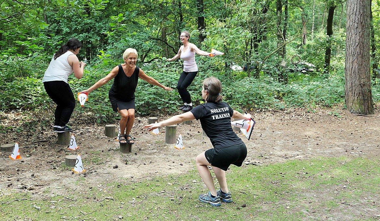 Solution Training at the jogging track Oude Warande - Tilburg University, Vanessa Brazeau, SEA Foundation 2017