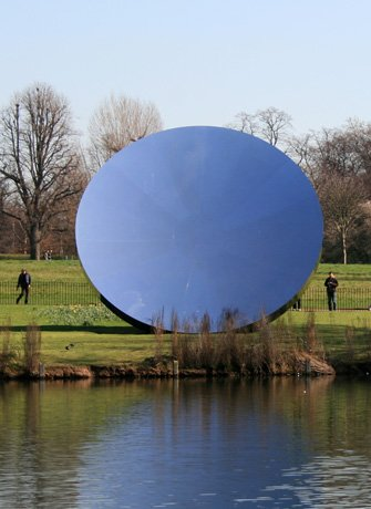 Anish Kapoor Sculpture Sky Mirror For De Pont Museum