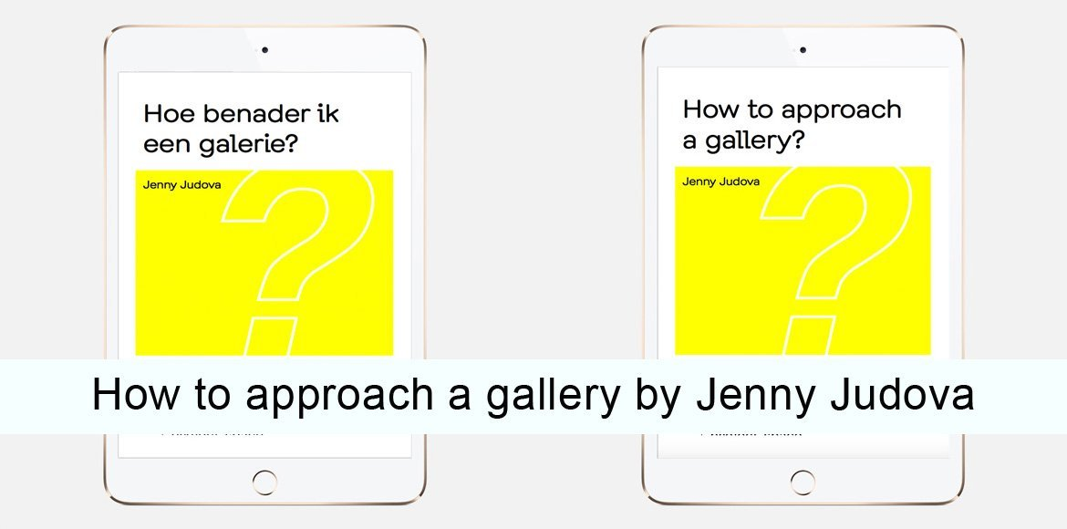 SEA Foundation The Netherlands How to approach to a gallery by Jenna Judova