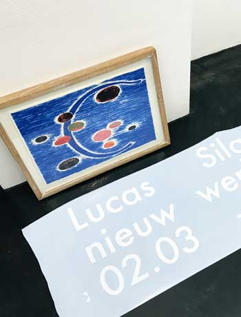 Exhibition Artist Lucas Silawanebessy, 2018 at SEA Foundation, The Netherlands