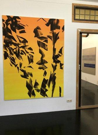 Exhibition Beyond the Painting SEA Foundation, Tilburg, The Netherlands, Evi Vingerling, Untitled 2016
