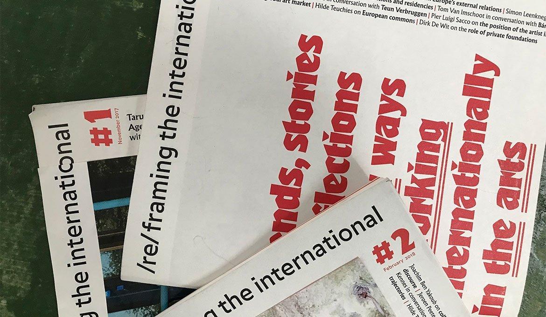 Symposium Reframing the International - September 2018 - Pop Up Magazines
