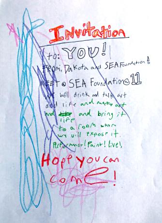 invitation How to Make An Art, dakota havard 2