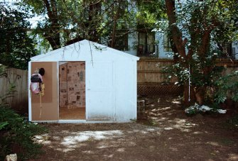 Anna Frost, Curator in Residence, SEA Foundation, My Shed Shaped Heart