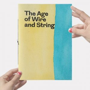 Mila Lanfermeijer publication The Age of Wire and String 2018