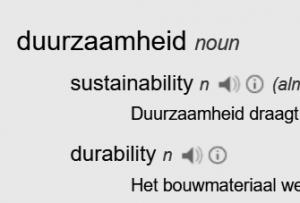 halfway review duurzaamheid