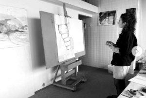 Danielle Lemaire SEA Foundation Studio Encounter with Julia Fidder