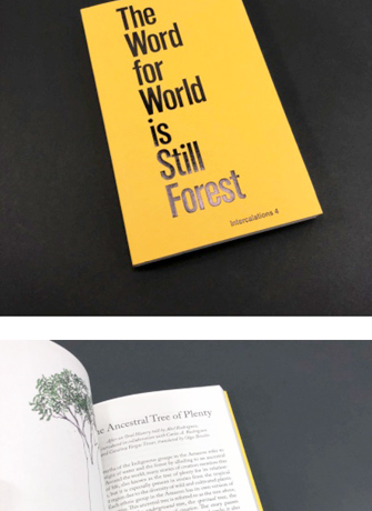 The word for world is forest book